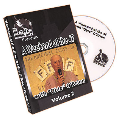 Weekend at the 4F w/ Obie O'Brien VOL. 2 - DVD