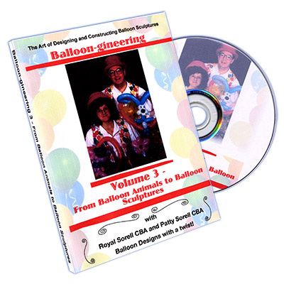 Balloon-gineering Vol. 3 by Diamond's Magic - DVD