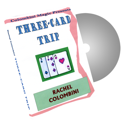 3 Card Trip by Wild-Colombini Magic - DVD