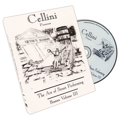Cellini Art Of Street Performing Volume 3 - DVD