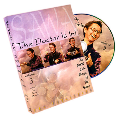 The Doctor Is In - The New Coin Trucos de Magia de Dr. Sawa Vol 3
