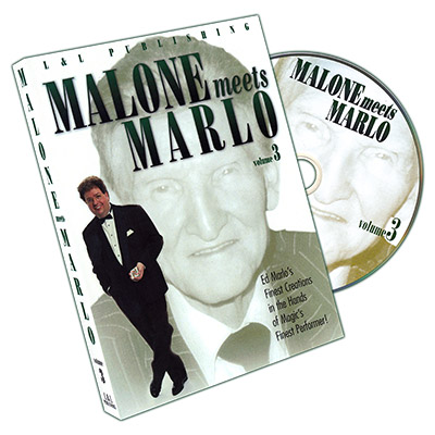 Malone Meets Marlo #3 by Bill Malone - DVD