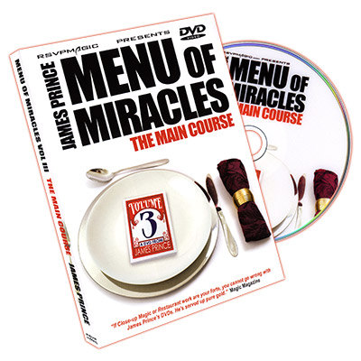 Menu of Miracles III - The Main Course by James Prince & RSVP - DVD