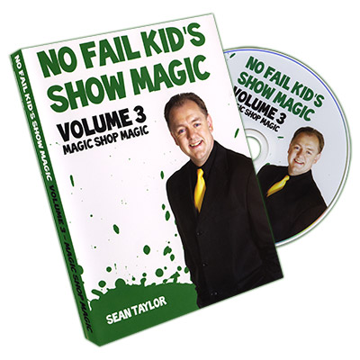 No Fail Kid's Magic Vol. 3 by Sean Taylor - DVD