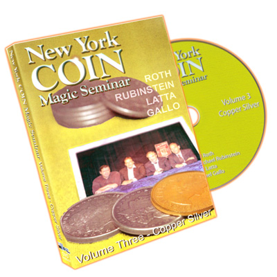 New York Coin Seminar Volume 3: Copper Silver - DVD