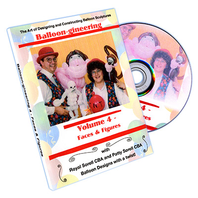 Balloon-gineering Vol. 4 by Diamond's Magic - DVD