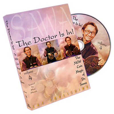 The Doctor Is In - The New Coin Trucos de Magia de Dr. Sawa Vol 4