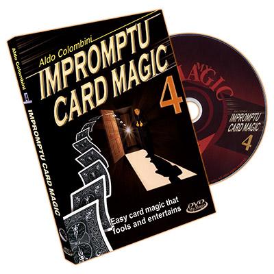 Impromptu Card Magic Volume #4