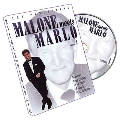 Malone Meets Marlo #4 by Bill Malone - DVD