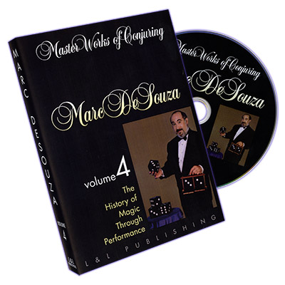 Master Works of Conjuring Vol. 4 by Marc DeSouza - DVD