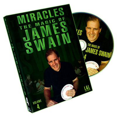 Miracles - The Magic of James Swain Vol. 4 - DVD