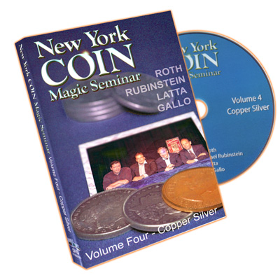 New York Coin Seminar Volume 4: Copper Silver - DVD