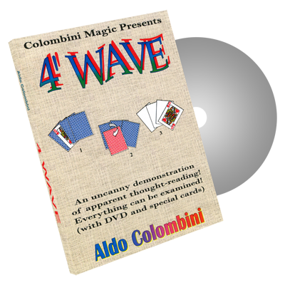 4' Wave by Wild-Colombini Magic - DVD