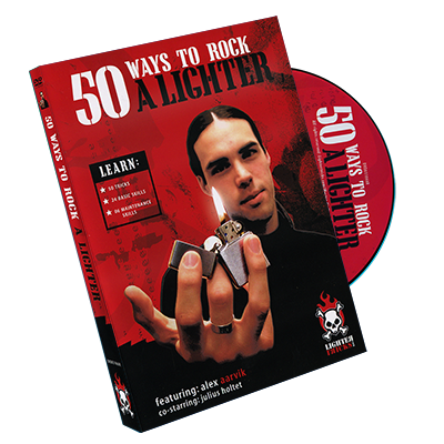 50 Ways To Rock A Lighter DVD