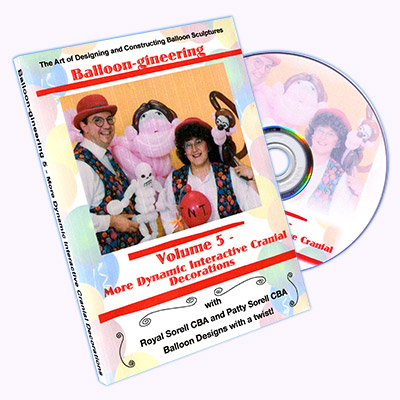 Balloon-gineering Vol 5 - Diamonds Magic - DVD