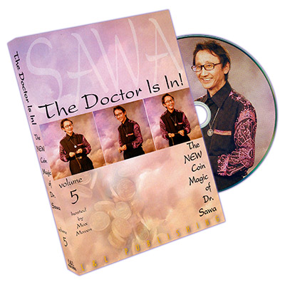 The Doctor Is In - The New Coin Magic of Dr. Sawa Vol 5 - DVD
