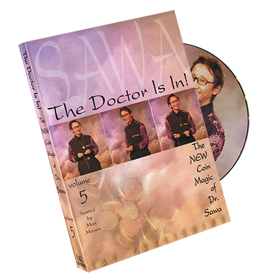 The Doctor Is In - The New Coin Trucos de Magia de Dr. Sawa Vol 5