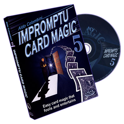 Impromptu Card Magic Volume #5 by Aldo Colombini - DVD