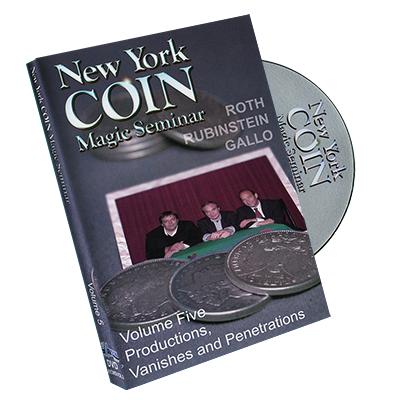 New York Coin Seminar Volume 5: Productions, Vanishes and Penetrations