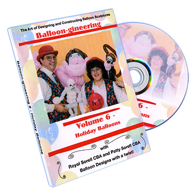 Balloon-gineering Vol. 6 by Diamond's Magic - DVD