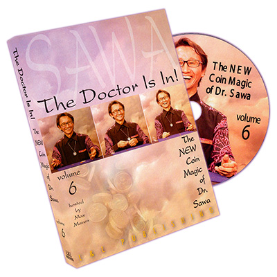 The Doctor Is In - The New Coin Trucos de Magia de Dr. Sawa Vol 6