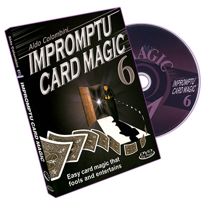Impromptu Card Magic Volume #6 by Aldo Colombini - DVD