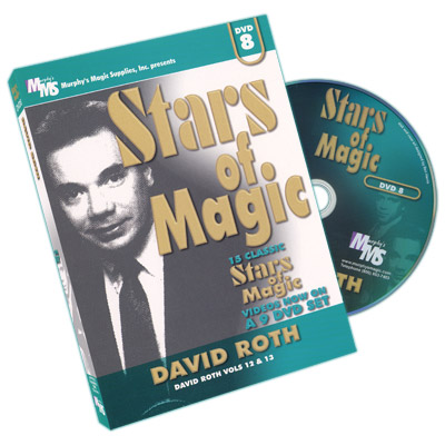 Stars Of Magic #8 (David Roth) - DVD