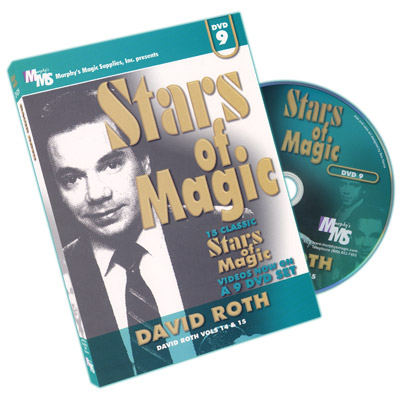 Stars Of Magic #9 (David Roth) - DVD