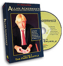 Advanced Card Control Series Vol 6: The Faro Shuffle by Allan Ackerman - DVD