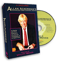 Advanced Card Control Series Vol 8: Utility Moves by Allan Ackerman - DVD
