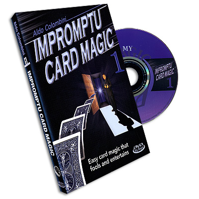 Impromptu Card Magic #1 Aldo Colombini, DVD