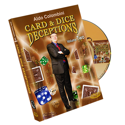 Card & Dice Deceptions Volumen 2  - Aldo Colombini