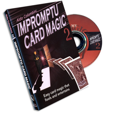 Impromptu Card Magic #2 Aldo Colombini, DVD