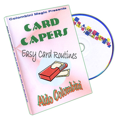 Card Capers by Aldo Colombini - DVD