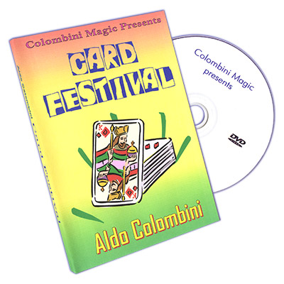 Card Festival by Aldo Colombini - DVD