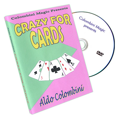 Crazy for Cards by Wild-Colombini - DVD