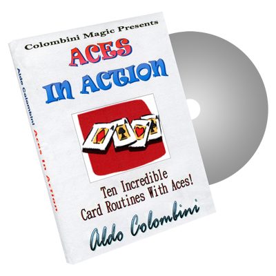 Aces In Action by Wild-Colombini Magic - DVD