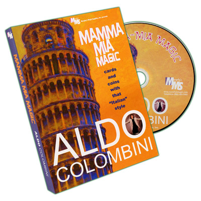Mamma Mia Magic by Aldo Colombini - DVD