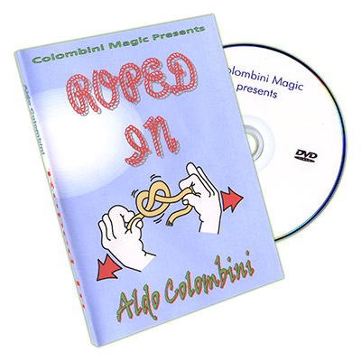 Roped In by Aldo Colombini - DVD
