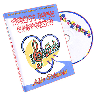 Three Ring Concerto by Aldo Colombini - DVD