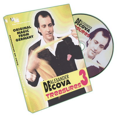 Treasures Vol 3 by Alexander DeCova - DVD