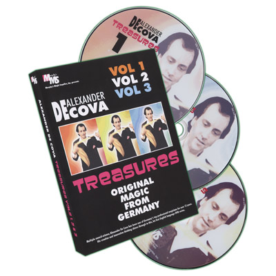 Treasures Set Vol 1-3 by Alexander DeCova - DVD