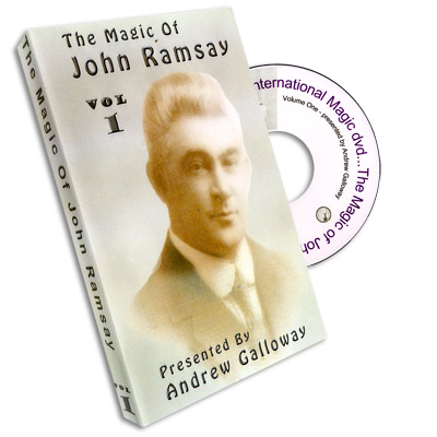 Magic of John Ramsay DVD #1 by Andrew Galloway