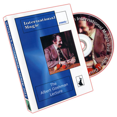 Albert Goshman Lecture by International Magic - DVD