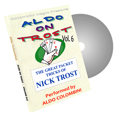 Aldo On Trost Vol. 6 (Packet Tricks) by Aldo Colombini - DVD