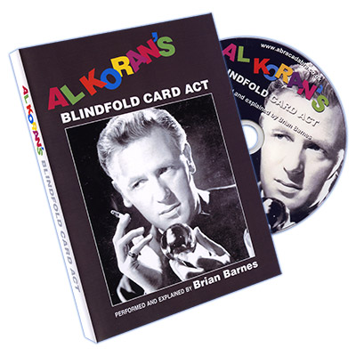 Al Koran's Miracle Blindfold Act - DVD