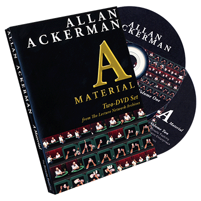 Allan Ackerman A Material 2 DVD Set