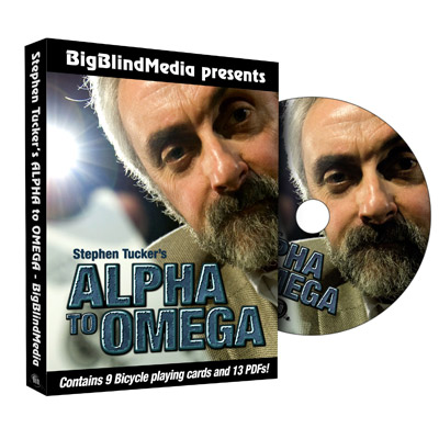 Alpha to Omega by Stephen Tucker & Big Blind Media -  DVD