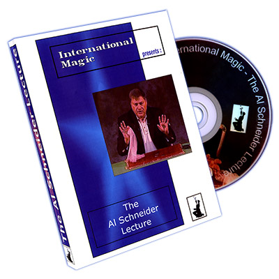 Al Schneider Lecture DVD by International Magic - DVD