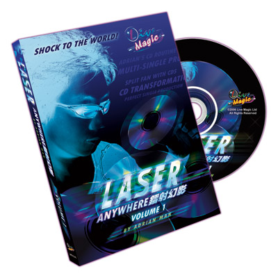 Laser Anywhere Volume 1 by Adrian Man - DVD